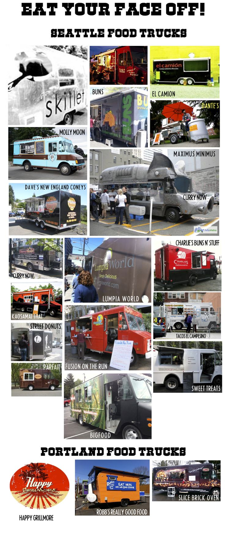Next Saturday Sept. 17th Mobile food truck mayhem!! It will be delicious! http://mobilefoodrodeo.com#