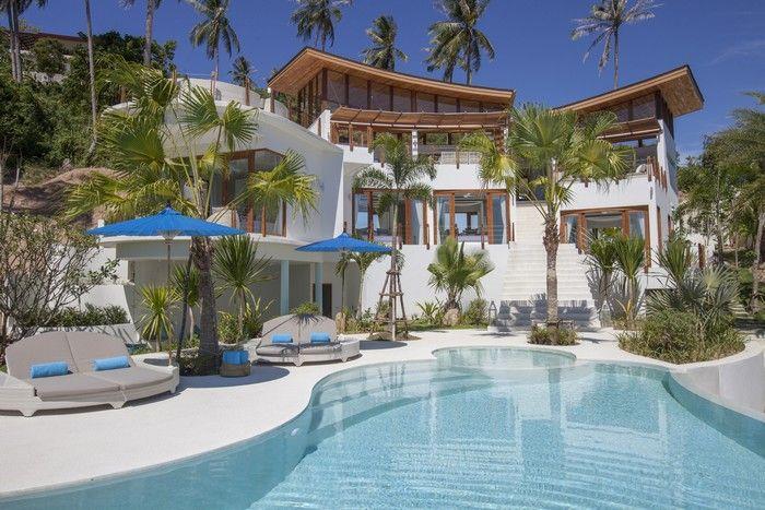 Sublime 4-Bed Bophut Seaview Luxury Villa   Koh Samui Real Estate - Luxury Property for Sale & Rent