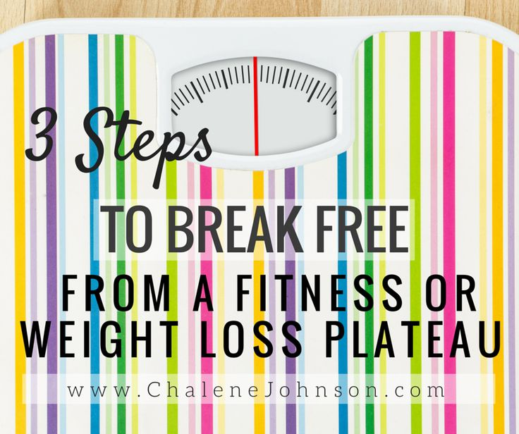 how to break the plateau in weight loss