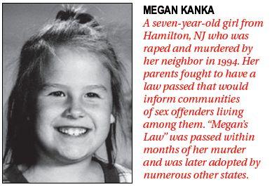 Details on Megan's Law