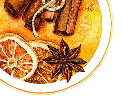 """Check out new work on my @Behance portfolio: """"Citrus_Watercolor"""" http://on.be.net/1M9e8vr"""