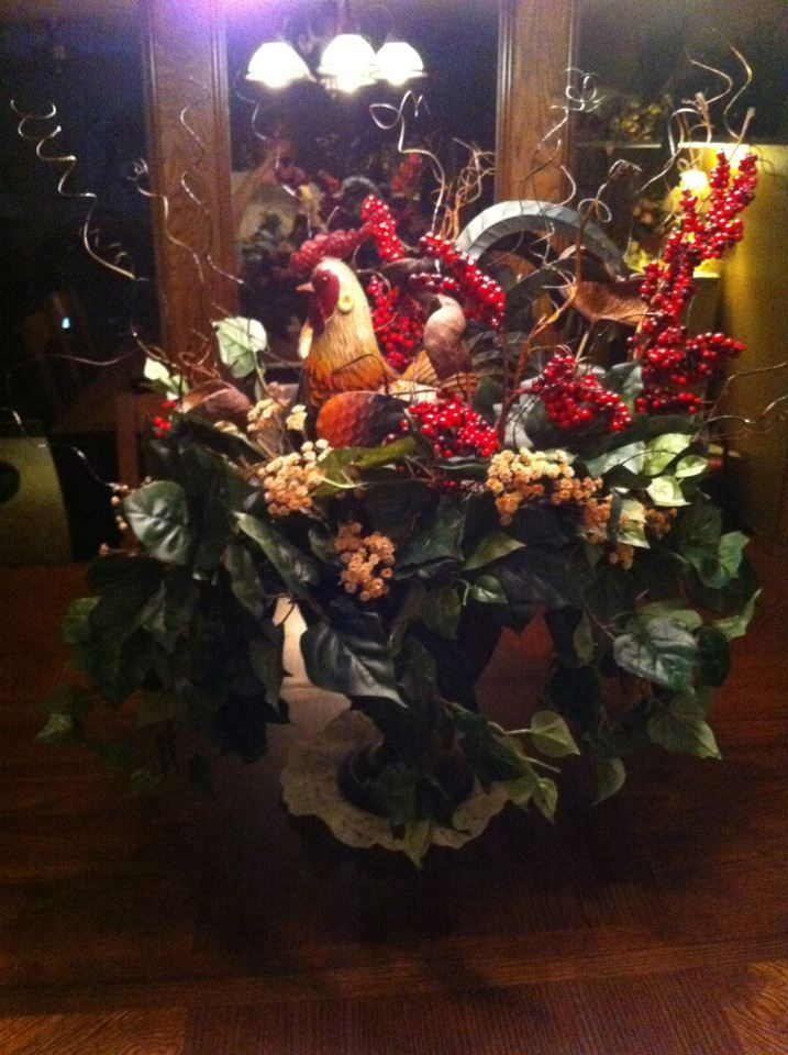 Rooster Decor In Living Room: Things I Have Made! In 2019