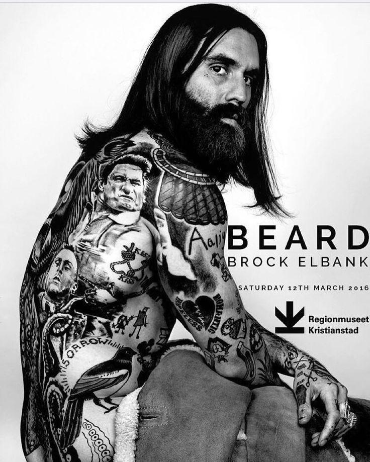 #Repost @rickisamhall  @Mrelbank's exhibition #Beard hits @Regionmuseet Kristianstad in Sweden on Saturday 12th March.. Showing 55 portrait works including a selection of his #Project60 series for @BeardSeason raising awareness against Melanoma.. . #Theswedishbeardcommunity#beard#bearded#beardlife#beardlove#beardoil#moustache#beardman#mustache#mustachewax#skägg#skäggvård#beardstyle#barber#barberlife#beardedlifestyle#eatclean#beardgrooming#beards by theswedishbeardcommunity