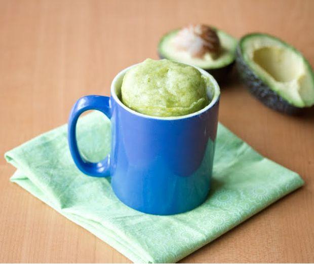 avocado mug cake