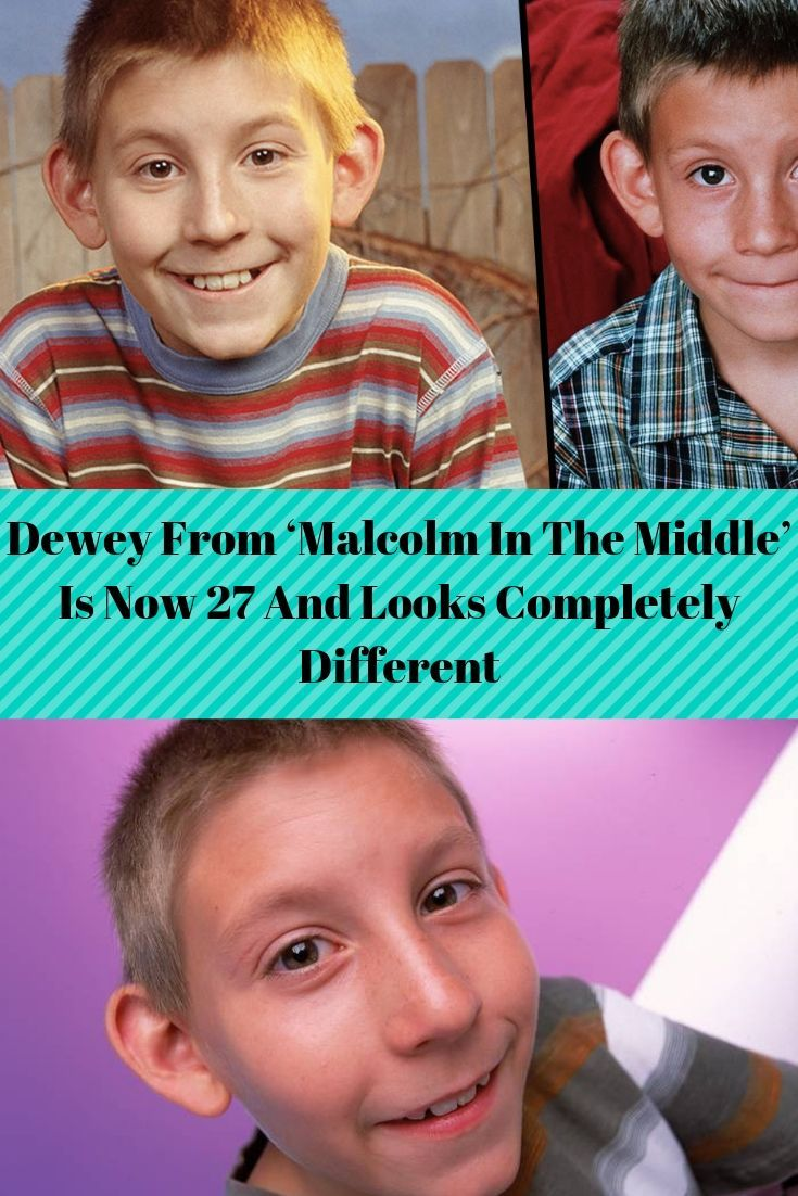 Dewey From Malcolm In The Middle Is Now 27 And Looks