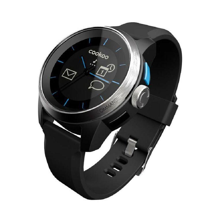 Το COOKOO Watch συνδέεται με το iPhone, το iPad ή το iPod, ενημερώνοντάς σας για αναπάντητες κλήσεις, σημαντικά e-mail, οριακή μπαταρία ή ό,τι άλλο έχετε προεπιλέξει εσείς.