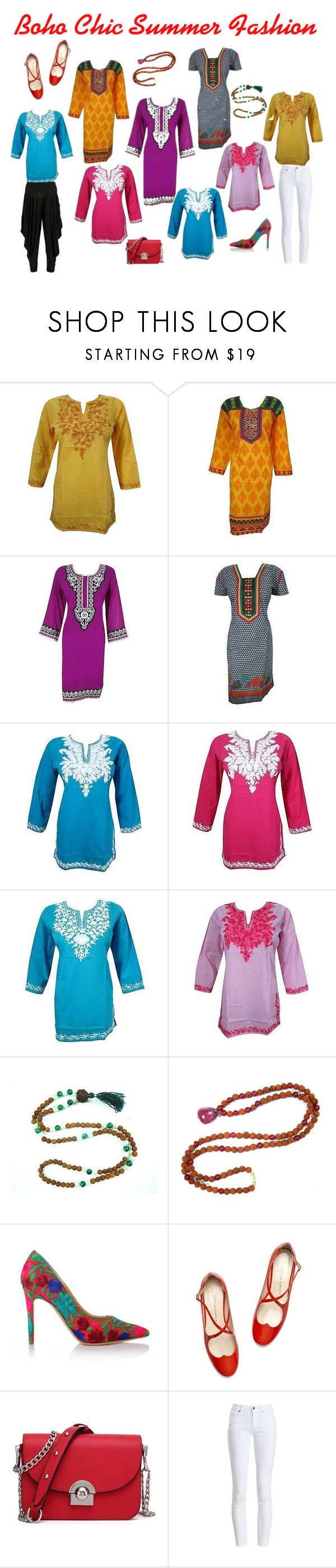 Boho Chic Cotton Tunic Dress For Summer by baydeals on Polyvore featuring Barbour, Boohoo and Vivienne Westwood  http://stores.ebay.com/mogulgallery/DESIGNER-KURTI-/_i.html?_fsub=665889019&_sid=3781319&_trksid=p4634.c0.m322