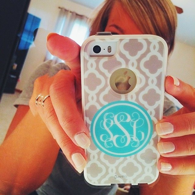 I don't monogram everything, but when I...oh wait, I do monogram everything!