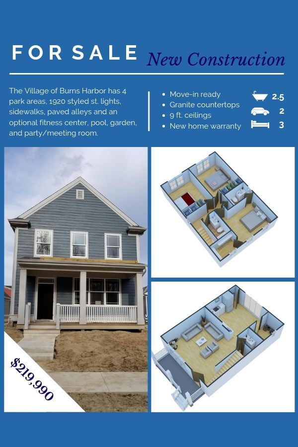 3 Br 2 5 Bath With 10 Yr Structural Warranty 1 Yr Parts Materials And Labor Via Builder Warranty New Construction House Styles Home Warranty
