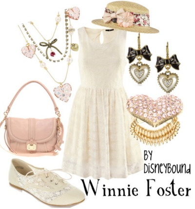 tuck everlasting: Disney Inspiration Outfits, Disney Outfits, Tucks Everlasting, Disney Clothing, Disneybound Style, Disney Bound, The Dresses, Winnie Foster, Disney Fashion