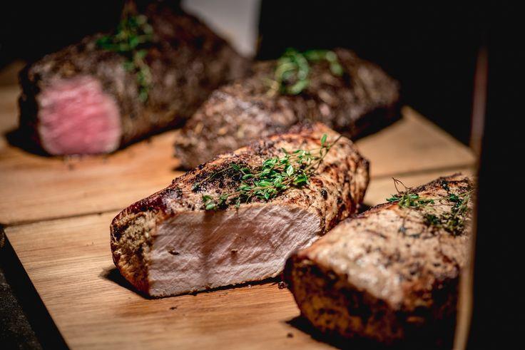 Roasted Pork & Beef