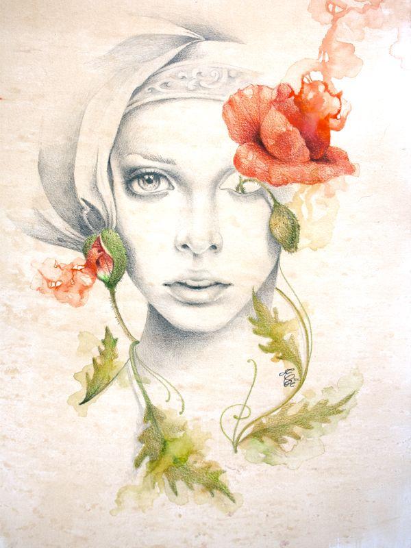 'Oblivium (Ginevra Cantofoli), study n.3' by Erica Calardo