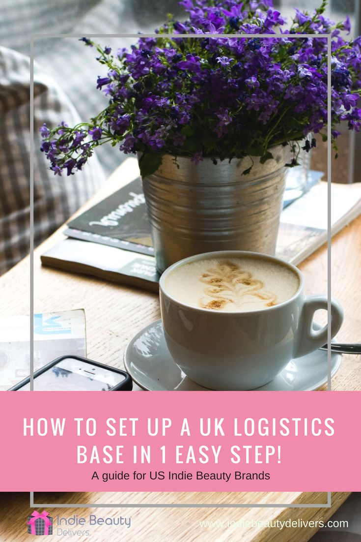If you are a US Indie Beauty Brand looking to launch in the UK then read this blog to find out how to set up a UK logistics base in one really easy step.