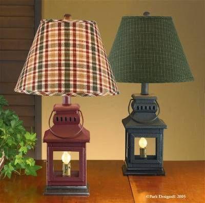 Iron Lantern Lamp