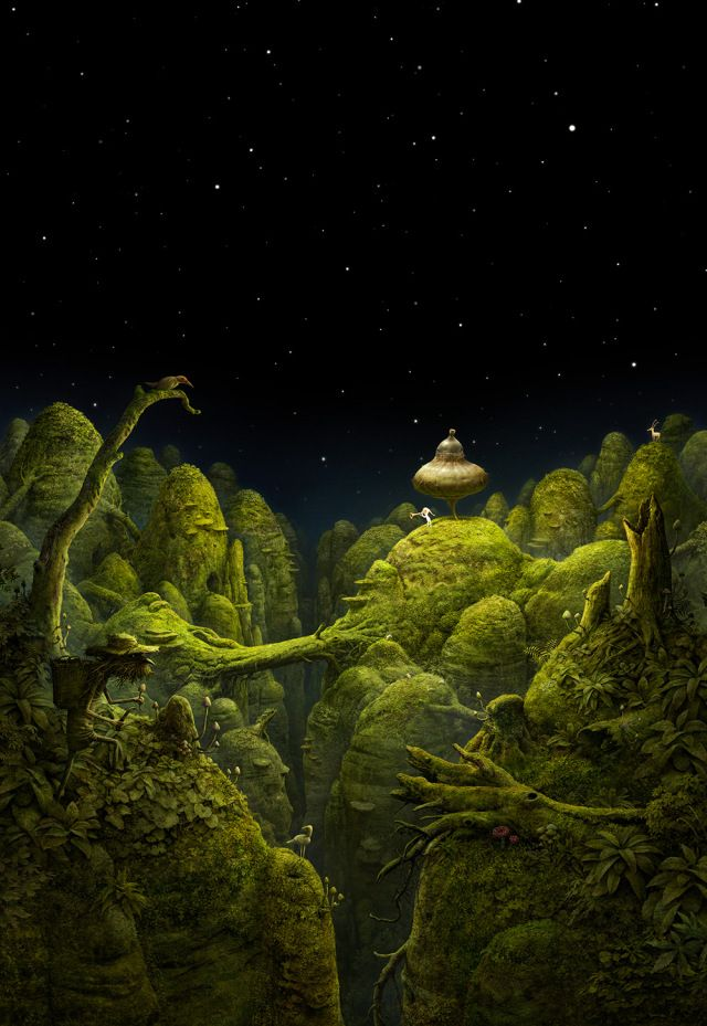 Samorost 3 by Amanita Design | The Dancing Rest https://thedancingrest.com/2016/09/20/samorost-3-by-amanita-design/