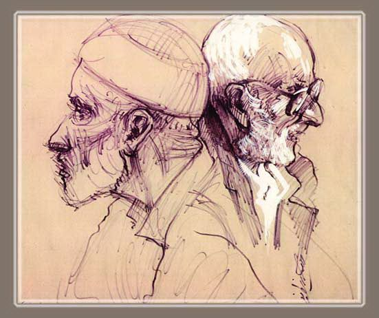 portret drawings- mix
