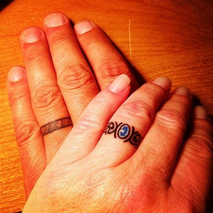 What if we replaced wedding rings with unique tattoos? These 20 people did!
