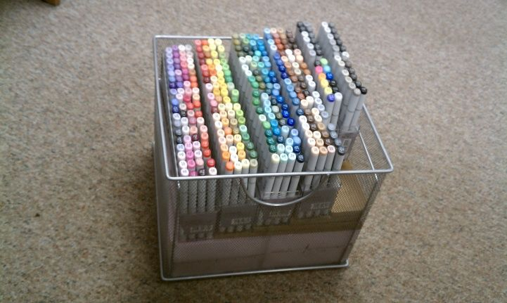 17 Best Images About Copic Storage On Pinterest Pen