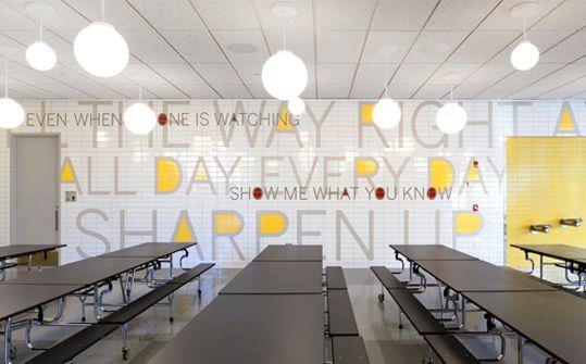 PAVE Academy Charter School. Designed by Pentagram @Enviromeant.com