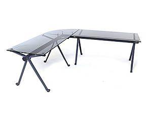 Table bureau verre perfect table bureau fly design table tele fly