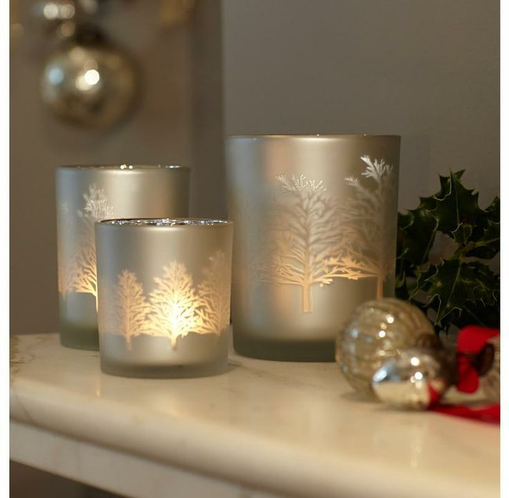 Glass Tree Tealights | The Handpicked Collection