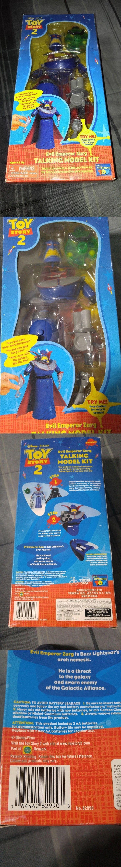 Toy Story 19223: Disney Pixar Toy Story 2 Evil Emperor Zurg Talking Model Kit Nib #62990 -> BUY IT NOW ONLY: $64.99 on eBay!