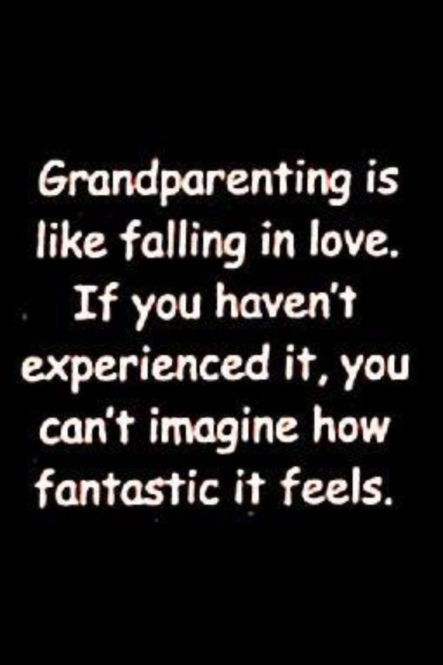 being Nonna & Grandpa is so sweet - just thinking about our grandkids makes us smile...