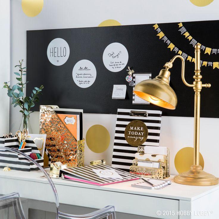 120 best images about office decor on pinterest for Diy desk decor pinterest
