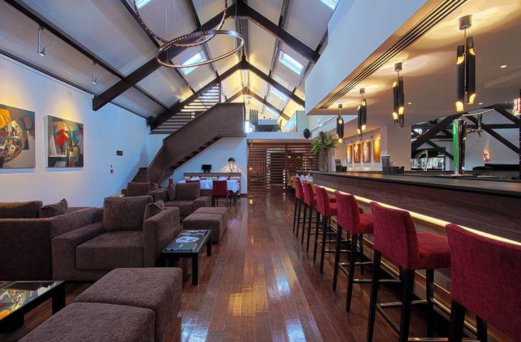 Salpoente - Lounge : Espaços de restauração modernos por GAAPE - ARQUITECTURA, PLANEAMENTO E ENGENHARIA, LDA