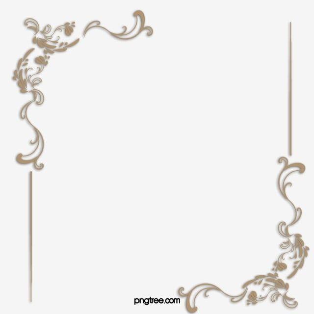 Material De Vetor De Fronteira Europeia Elegante Elegante Continental Renda Imagem Png E Psd Para Download Gratuito In 2020 Graphic Design Background Templates Vintage Photo Frames Hand Painted Flowers