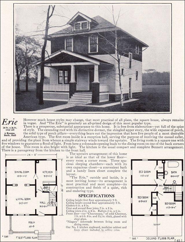 1922 bennett homes - the erie