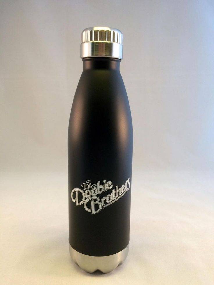 Doobie Brothers Metal Water Bottle