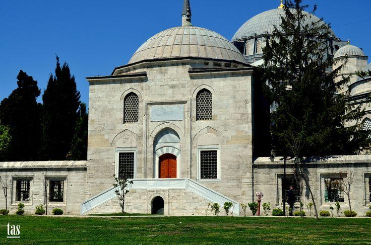 Süleymaniye külliyesi darülkurrası. İstanbul.