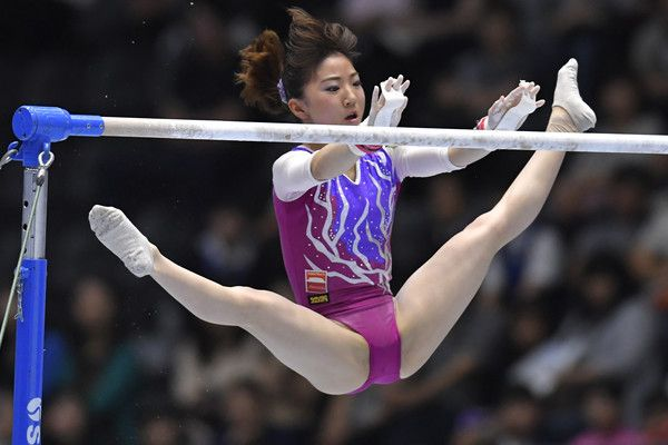 Asuka Teramoto Photos - Asuka Teramoto competes on the Uneven bar during Japan National Gymnastics Apparatus Championships at the Takasaki Arena on June 25, 2017 in Takasaki, Japan. - Asuka Teramoto Photos - 33 of 249