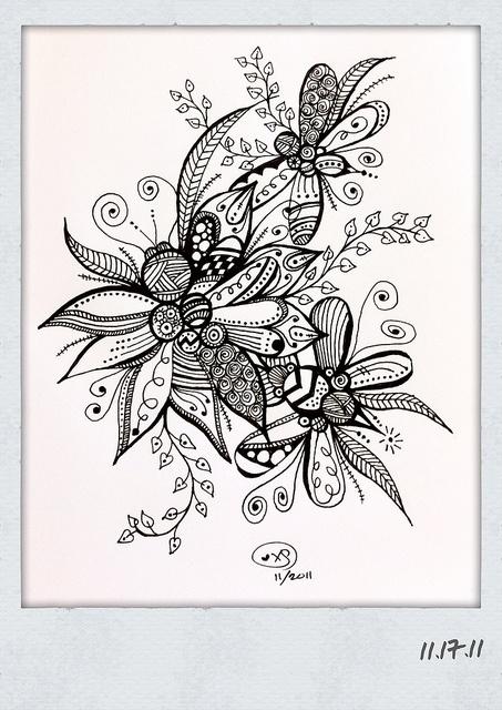 images of zentangle doodles & art journaling wallpaper
