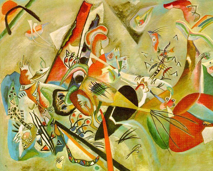 In Grey - Wassily Kandinsky