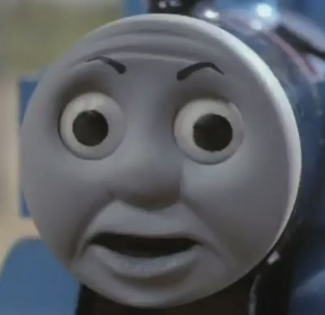 Thomas The Tank Engine O Face Funny Memes Funny Pictures Funny