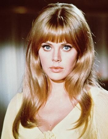 britt ekland #retro #hair #celebstylewed #weddings @celebstylewed