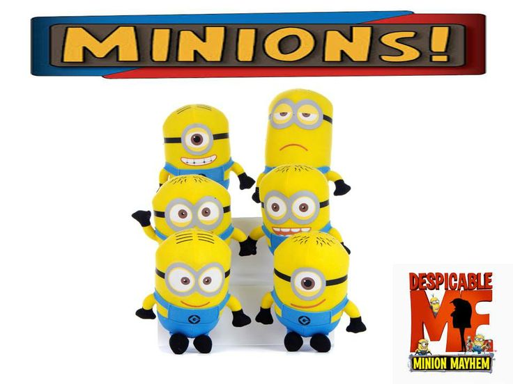 ‪#‎Despicable_me‬ ‪#‎minions‬ Buy yours now >http://tinyurl.com/qz6bjoc