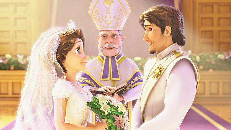 Rapunzel & Flynn's Wedding Day (has video) This is so funny. Exclusive edition!