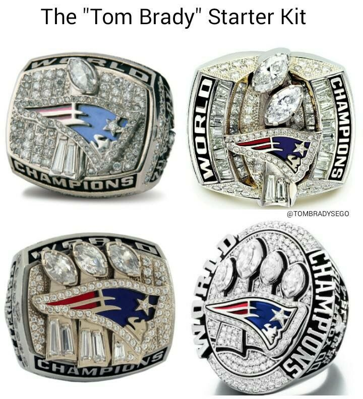The Tom Brady Starter Kit!!!! LOL!!!!