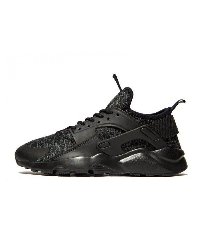 Kid's Nike Air Huarache Ultra Breathe Black Sneakers 018965 | Nike ...