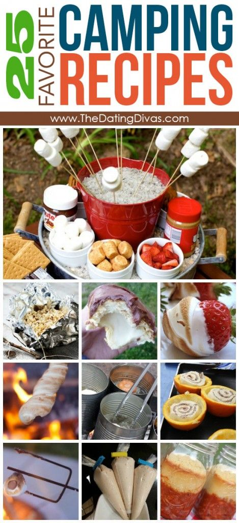 Best Camping Recipes- totally want to try a lot of these. They look amazing!