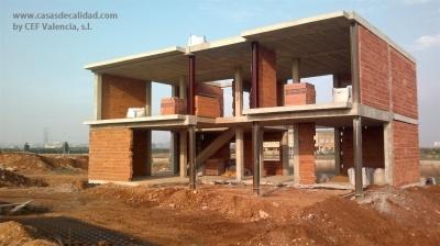 31 best images about construcci n viviendas by cef valencia s l on pinterest facebook - Casas en albal ...