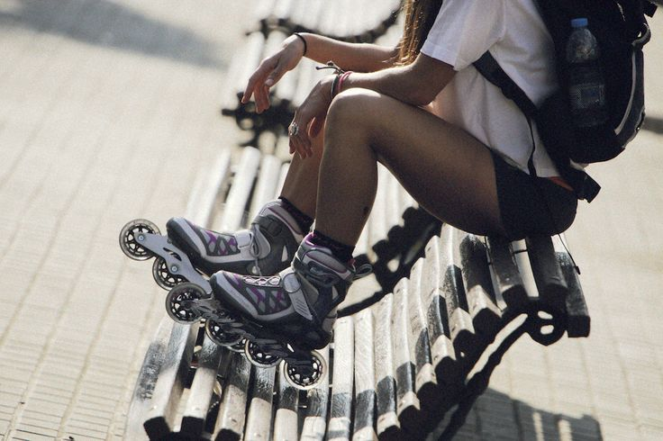 Skating can shape the body and mind. When you feel good about yourself, you feel better about life in general.