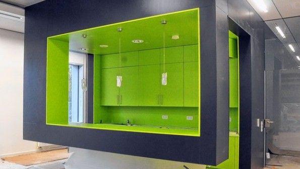 Design teeküche büro  Elmshorns modernste Teeküche steht in der KGSE | Teeküche ...
