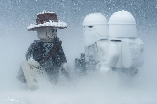 "Lego on Hoth: ""Damn it, Marcus! This ain't the map of Nepal."" by Avanaut, via Flickr"
