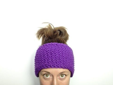 How To Easily Loom knit A Seed Stitch Headband | Loom Knitting Videos