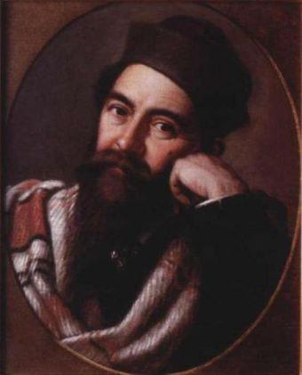 Mișu Popp - Autoportret circa 1867