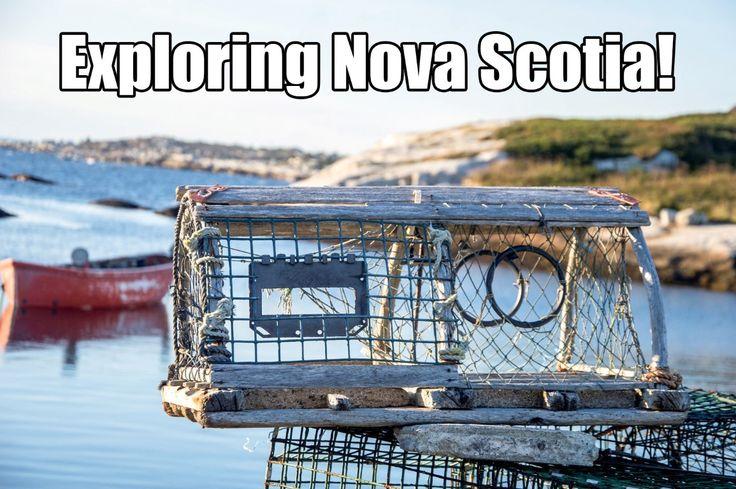 Exploring Nova Scotia!